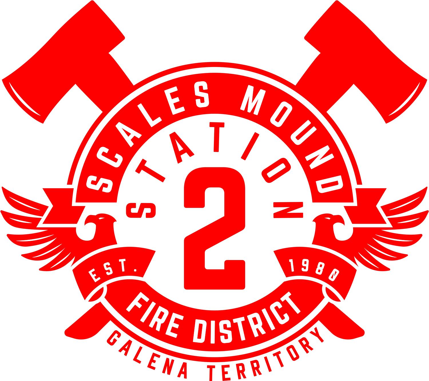 Scales Mound Fire District Shield