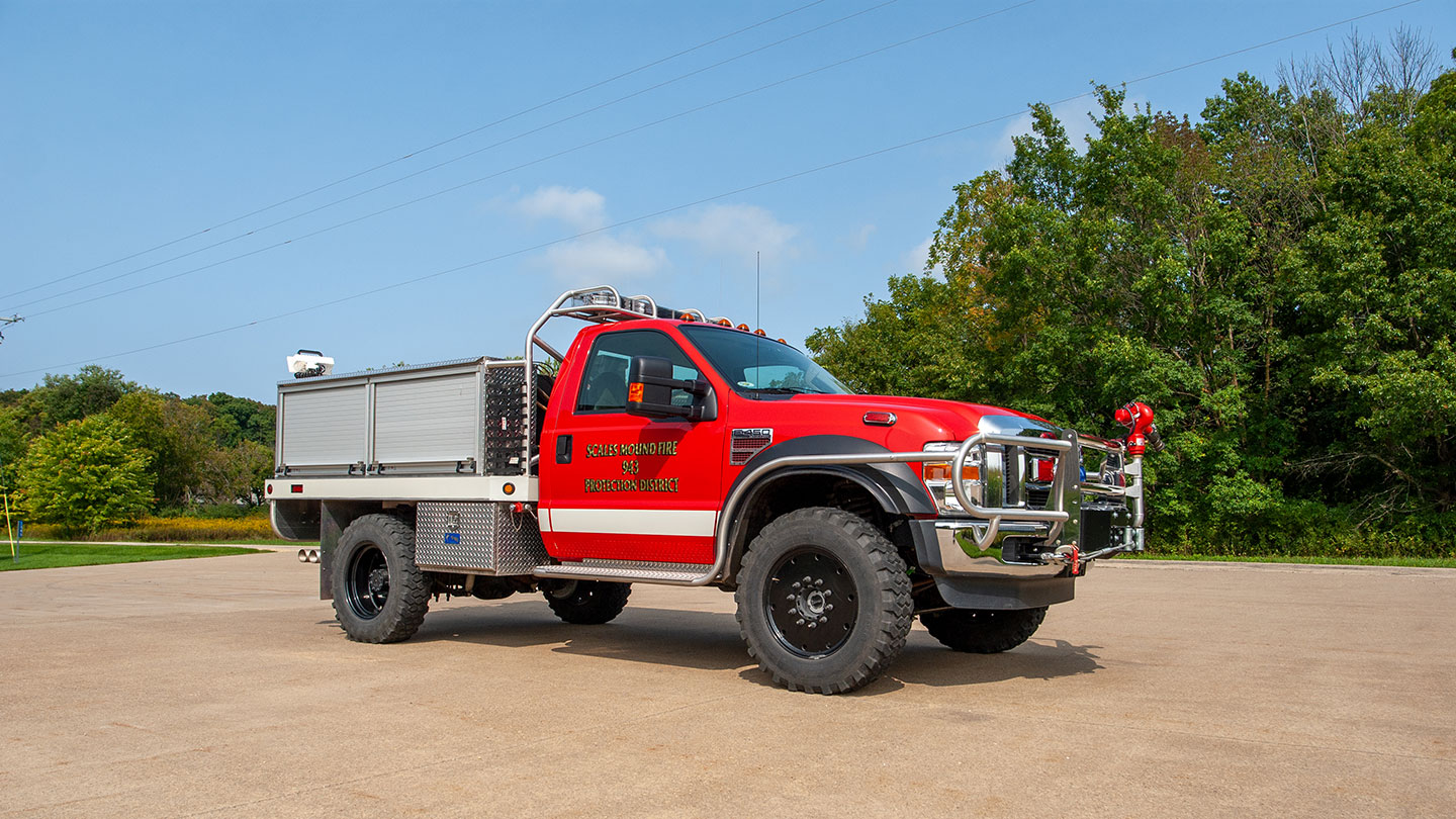 Brush Truck (Wildland Engine) 943