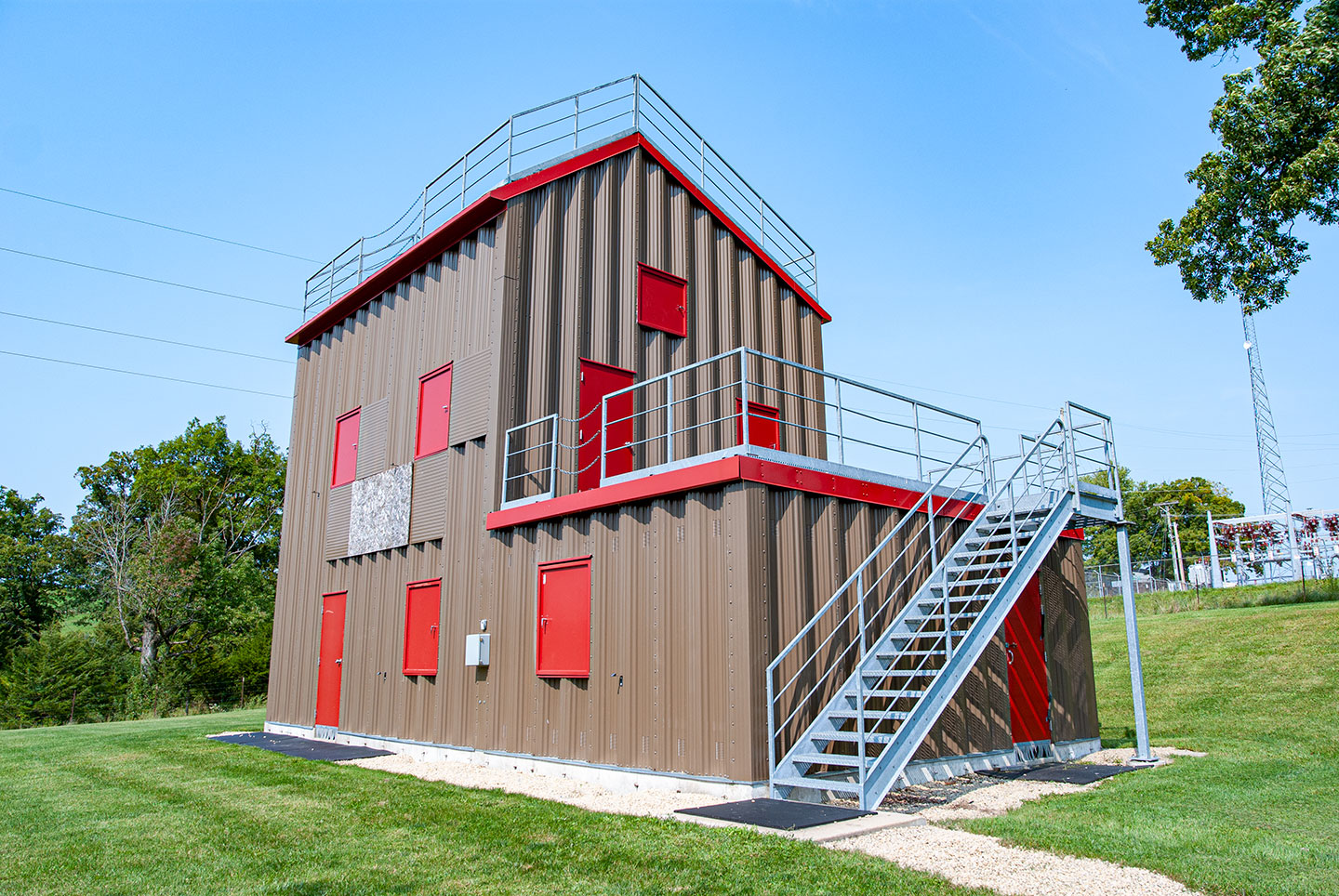 Scales Mound Fire Protection District Training Tower
