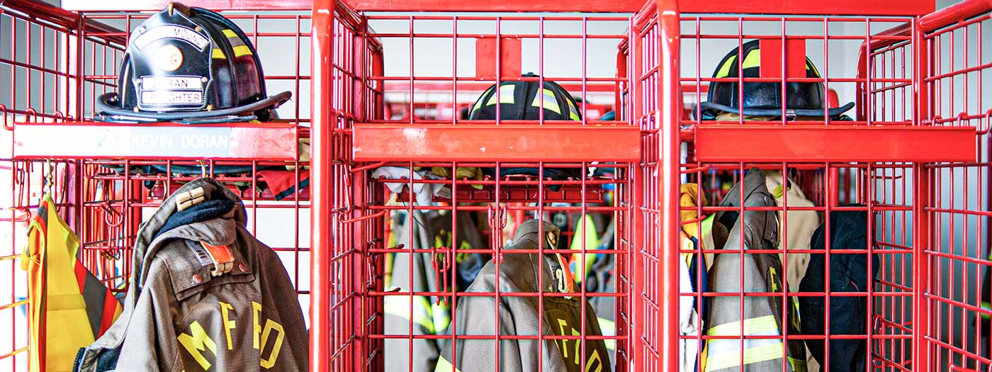 Lockers of the Scales Mound Fire District
